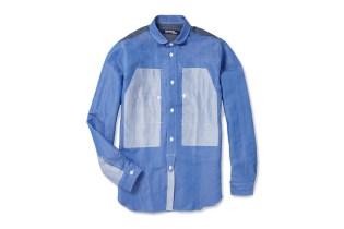 Junya Watanabe COMME des GARCONS MAN Panelled Linen-blend Shirt