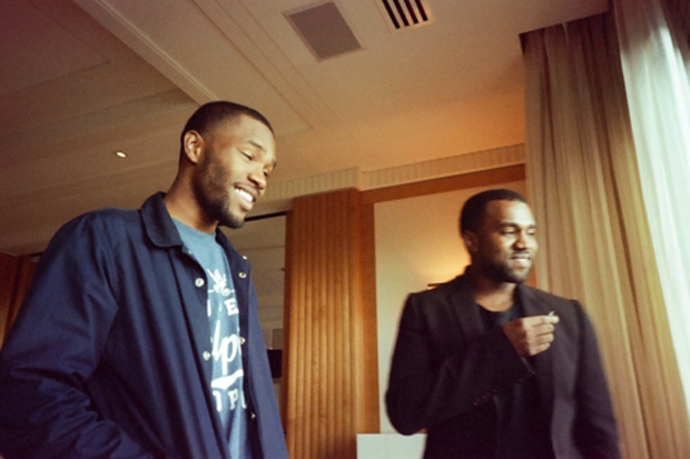 kanye west frank ocean and tyler the creator in the studio