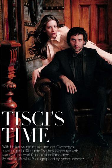 Riccardo Tisci and Kanye West for Vogue