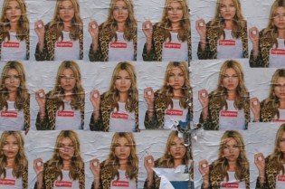 Kate Moss for Supreme 2012 Spring/Summer Teaser