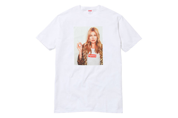 kate moss x supreme 2012 spring summer t shirt