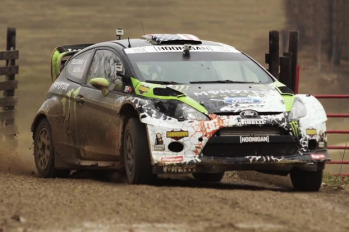 Ken Block Tests Ford Fiesta @ Sayers Brook Bison Ranch