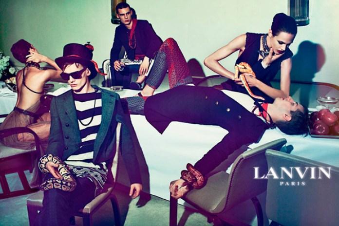 Lanvin 2012 Spring/Summer Ad Campaign