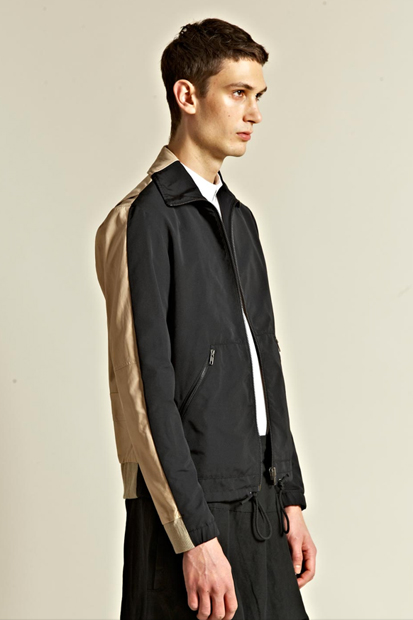 maison martin margiela 10 2012 spring summer leather back waterproof jacket