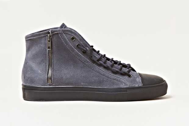 Maison Martin Margiela 2012 Spring/Summer Distressed Leather High Top Sneakers