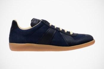 Maison Martin Margiela 2012 Spring/Summer Leather & Mesh Replica Trainers