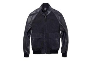 Maison Martin Margiela Suede and Leather Bomber Jacket