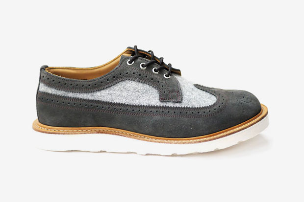 Heather Grey Wall x Mark McNairy LONGWING BROGUE