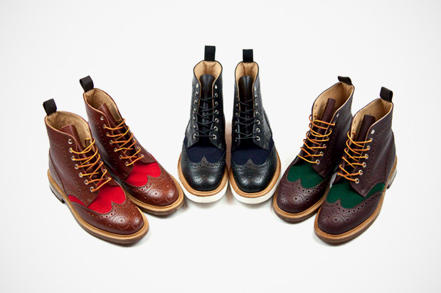 standard x mark mcnairy 2012 spring summer brogue boots