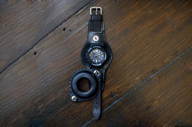 Men's File x Casio G-Shock Premium GW-3000BB Leatherback Watch