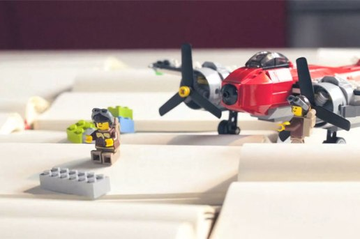 Moleskine Meets LEGO Video