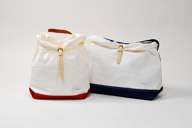 nanamica 2012 Spring/Summer White Nylon Tote Bag