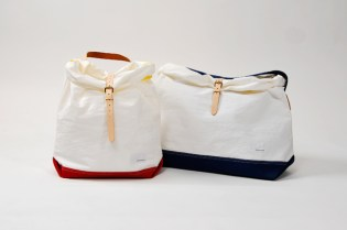 nanamica 2012 Spring/Summer White Nylon Tote Bag