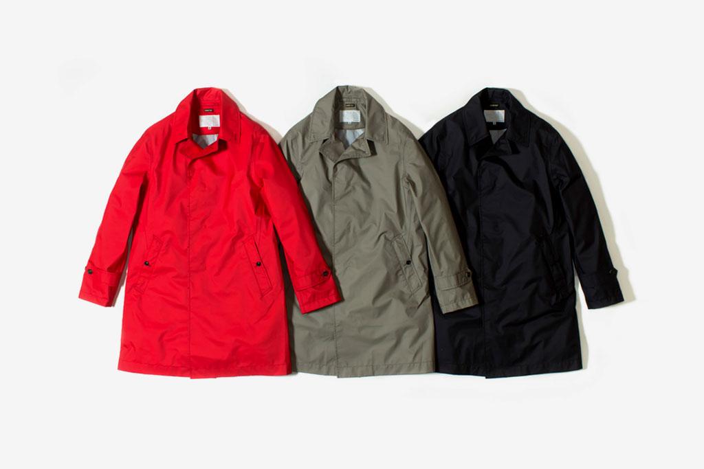 nanamica x The North Face 2012 GORE-TEX Soutien Collar Coat Collection