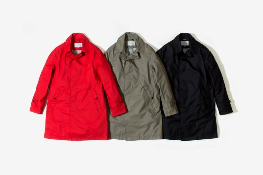 nanamica x The North Face 2012 GORE-TEX Soutien Collar Coat Collection