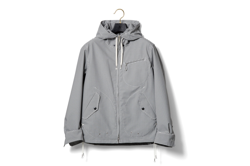 nexusvii 2012 spring summer windstopper hooded jacket