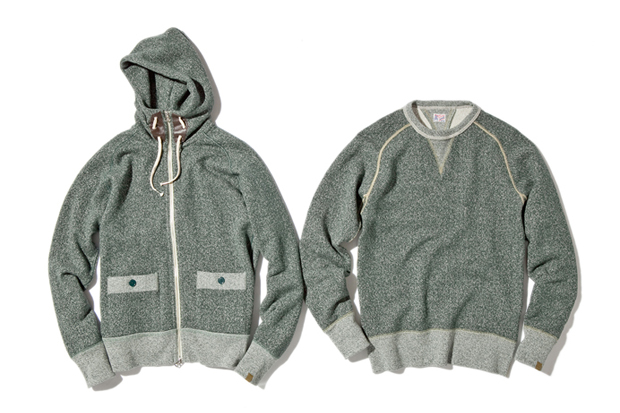 NEXUSVII x Loopwheeler Fleece Set