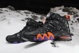 Nike Air Max Barkley Black/Safety Orange