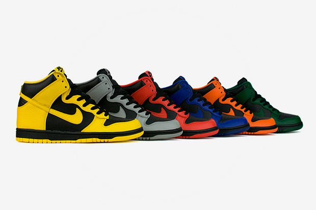 Nike Dunk 2012 Spring March Madness Pack