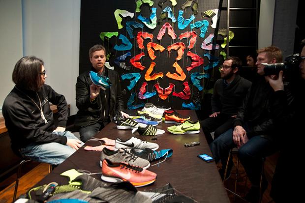Nike HTM Flyknit: Hiroshi Fujiwara & Mark Parker