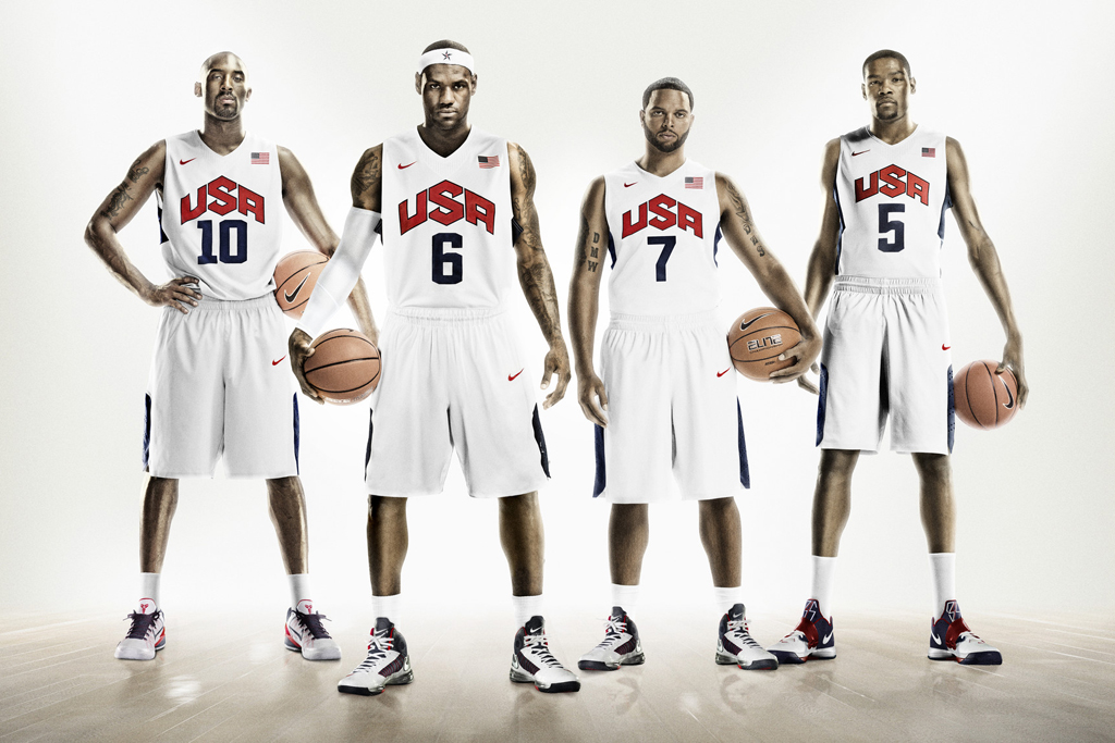 Nike Hyper Elite USA Basketball Uniforms