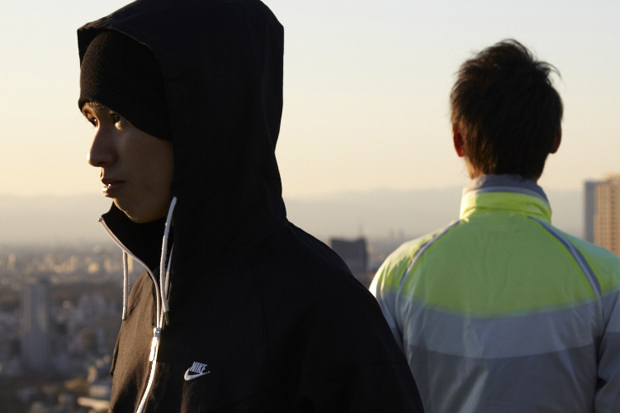 """Nike Japan 2012 Spring/Summer """"ONLY THE STRONG"""" Campaign"""