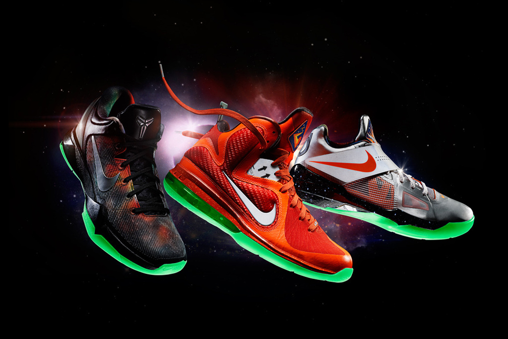 nike nba 2012 all star game footwear releases