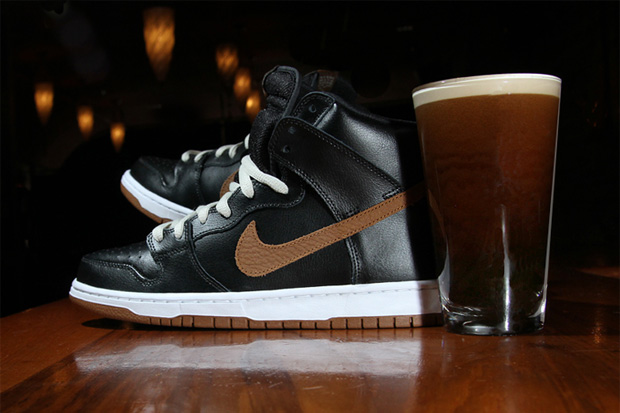 nike sb dunk high guinness
