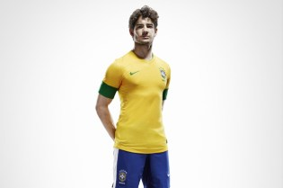 Nike Soccer 2012 Brazil National Team Jersey