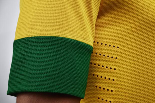 Nike Soccer 2012 Brazil National Team Jersey