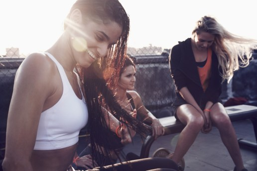 Nike The Look of Sport: Hope Solo / Laura Enever / Leryn Franco