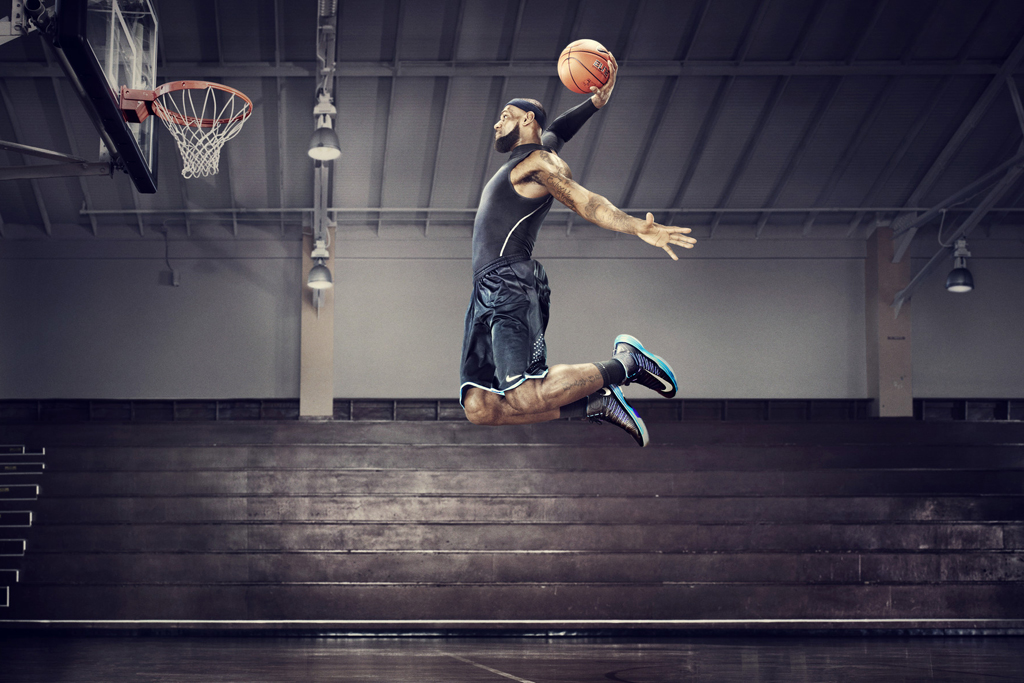 nike unveils nike basketball and training technology