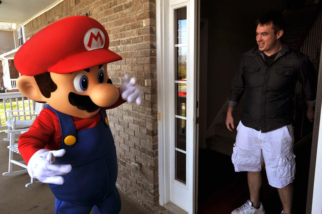 Nintendo Delivers Real Life Mario Kart to GameStop Winner