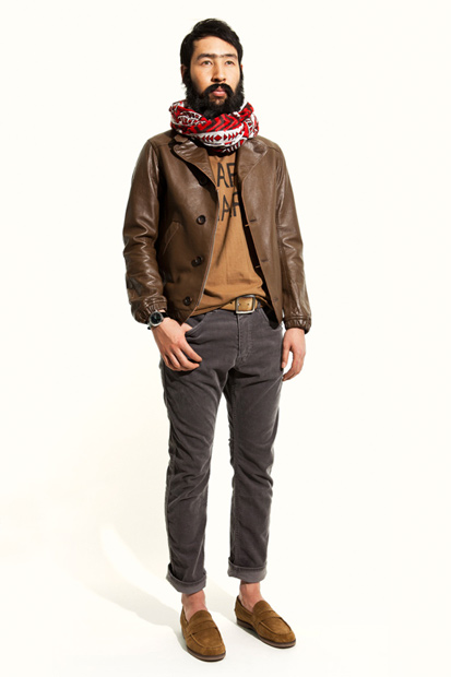 nonnative united arrows sons 2012 spring summer cafe hafa collection