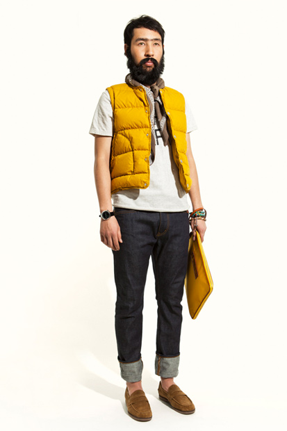 "nonnative@UNITED ARROWS & SONS 2012 Spring/Summer ""CAFÉ HAFA"" Collection"