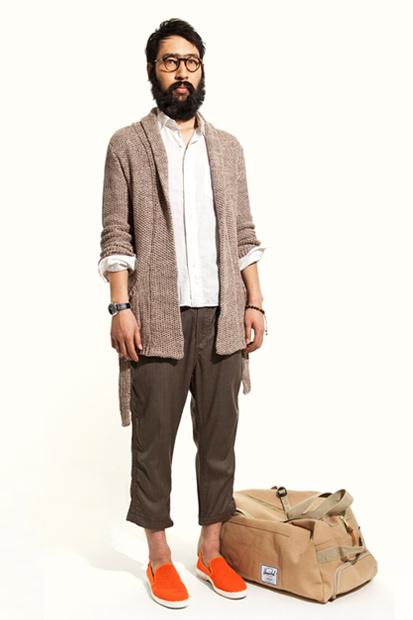 """nonnative@UNITED ARROWS & SONS 2012 Spring/Summer """"CAFÉ HAFA"""" Collection"""