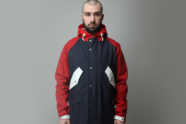 norse projects x la mjc x elka rainwear jacket