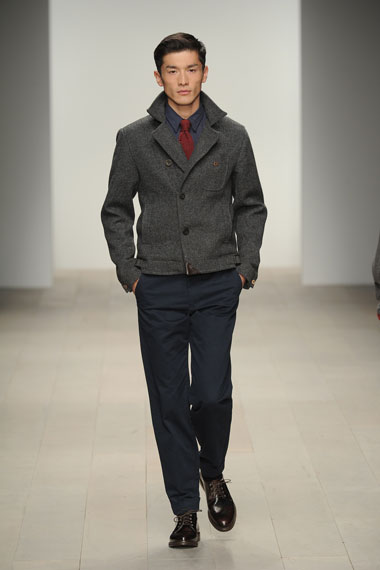 oliver spencer 2012 fall winter collection