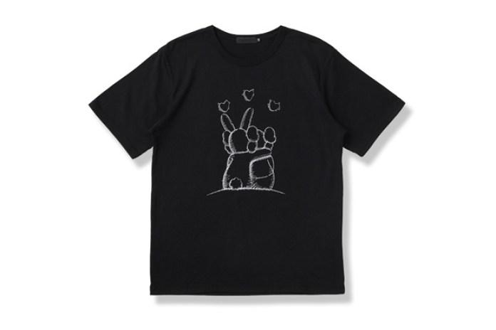"""OriginalFake 2012 Spring/Summer """"TOGETHER EMB"""" T-Shirt"""