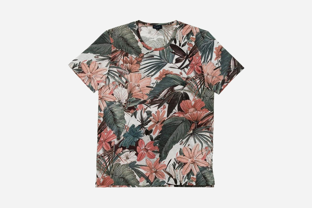 paul smith 2012 spring floral t shirts