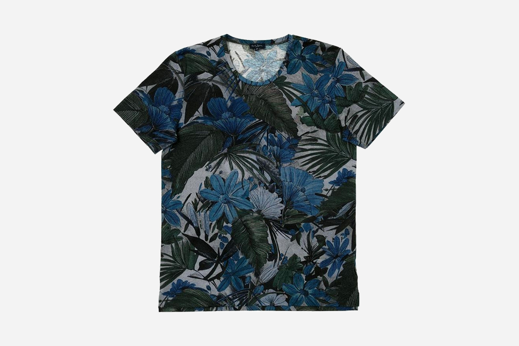 Paul Smith 2012 Spring Floral T-Shirts