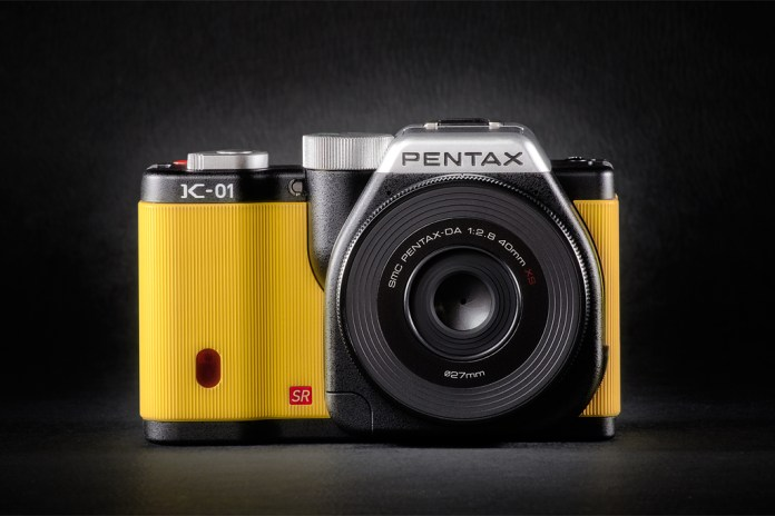 Pentax K-01 by Marc Newson