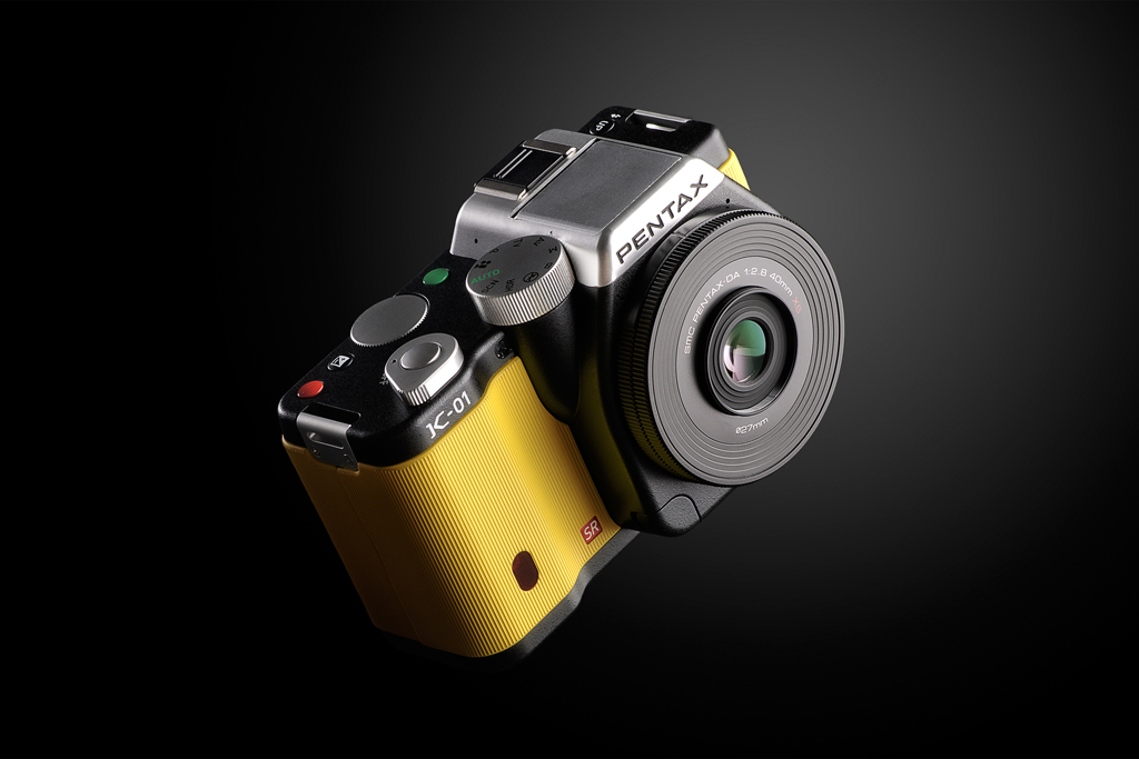 pentax k 01 by marc newson