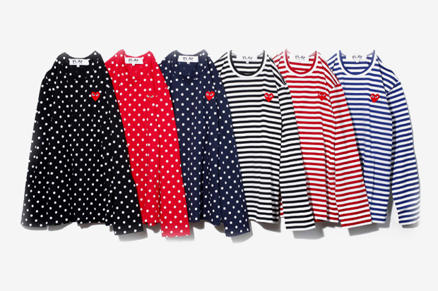 play comme des garcons 2012 spring summer colleciton