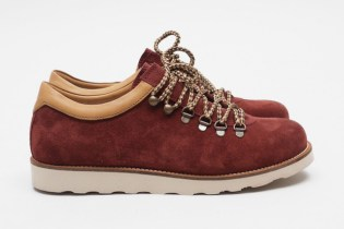 Pointer 2012 Spring/Summer Tenzing Suede Burgundy/Camel White