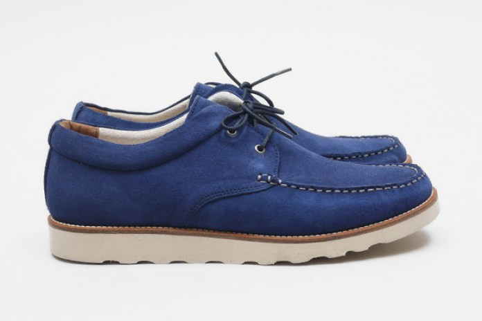 Pointer Cornflower Blue Saha II Suede Shoe