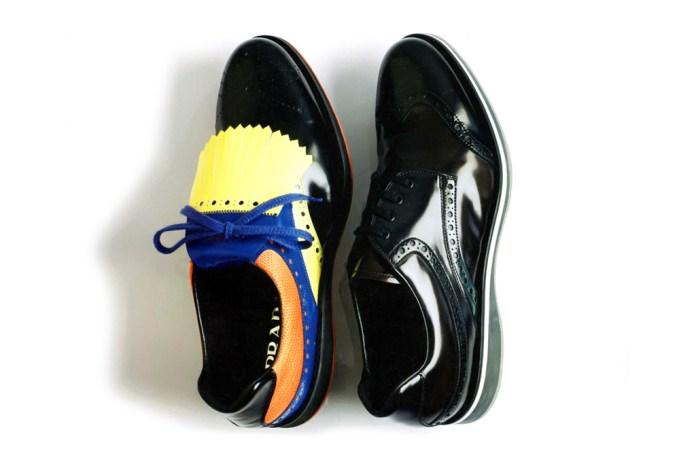 Prada 2012 Spring/Summer Wingtip Brogue Sneakers