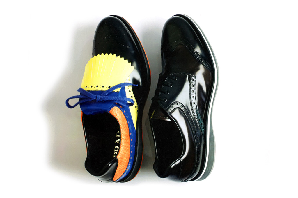 Prada 2012 Spring/Summer Wingtip Brogue Sneakers