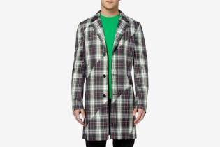Raf Simons 2012 Spring/Summer Tartan Jacket
