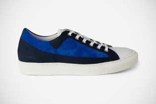 Raf Simons Panelled Leather and Suede Sneakers